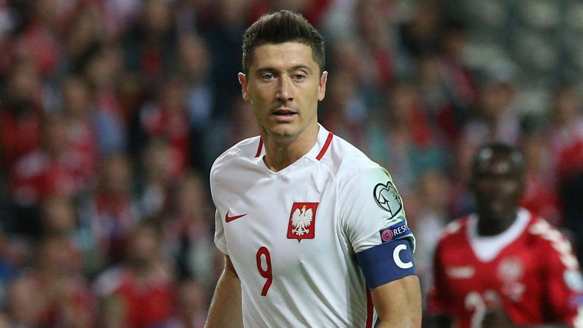 polonia vs italia nations league lewandowski